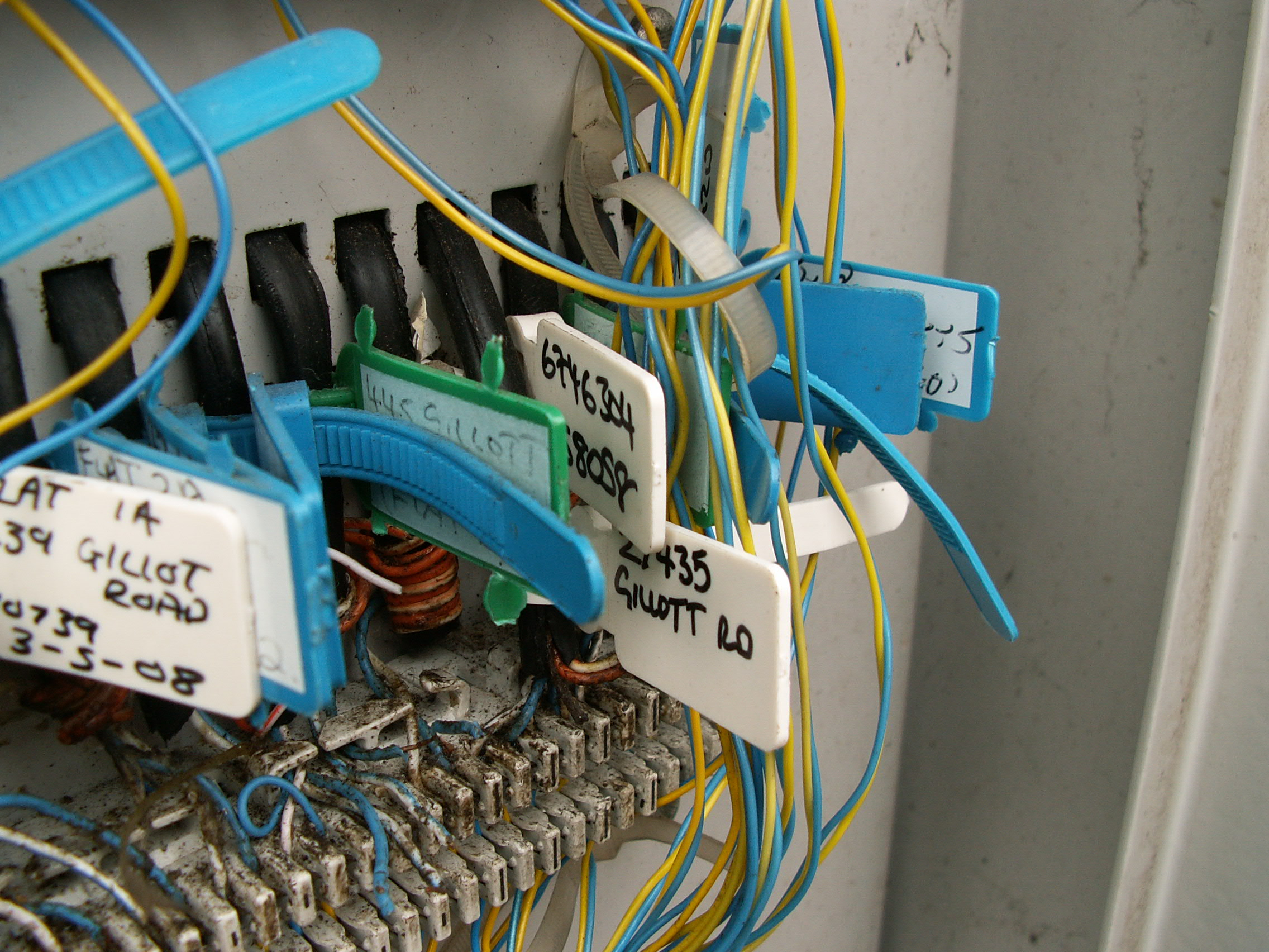 Photos Inside A Virgin Media Cable Street Cabinet