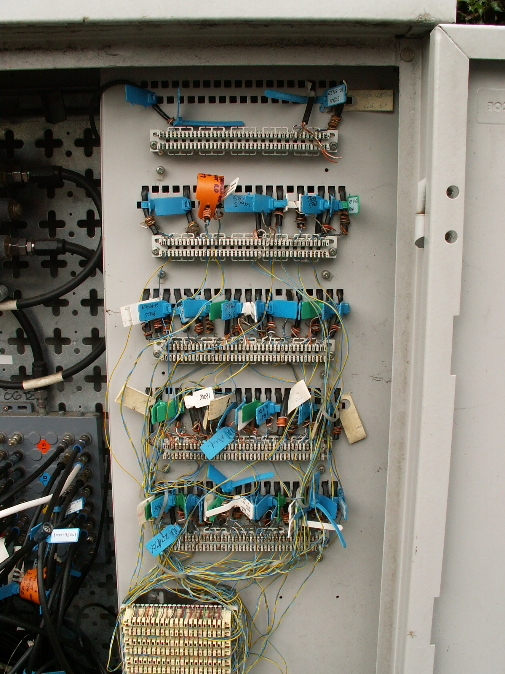Photos: inside a Virgin Media cable street cabinet – The ... on